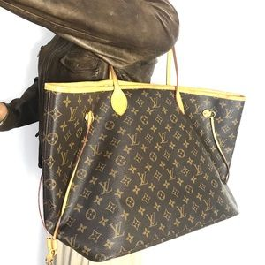 Biggest size Authentic Louis Vuitton neverfull gm